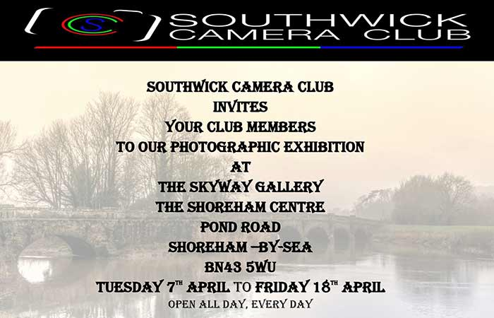Southwick Camera Club Exhibition