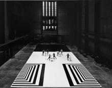 Ballet at Tate Modern by Margret Preece