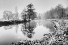 Along the Wey by Peter Merrick