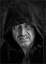 The Hooded Man - Bryan Roberts ARPS